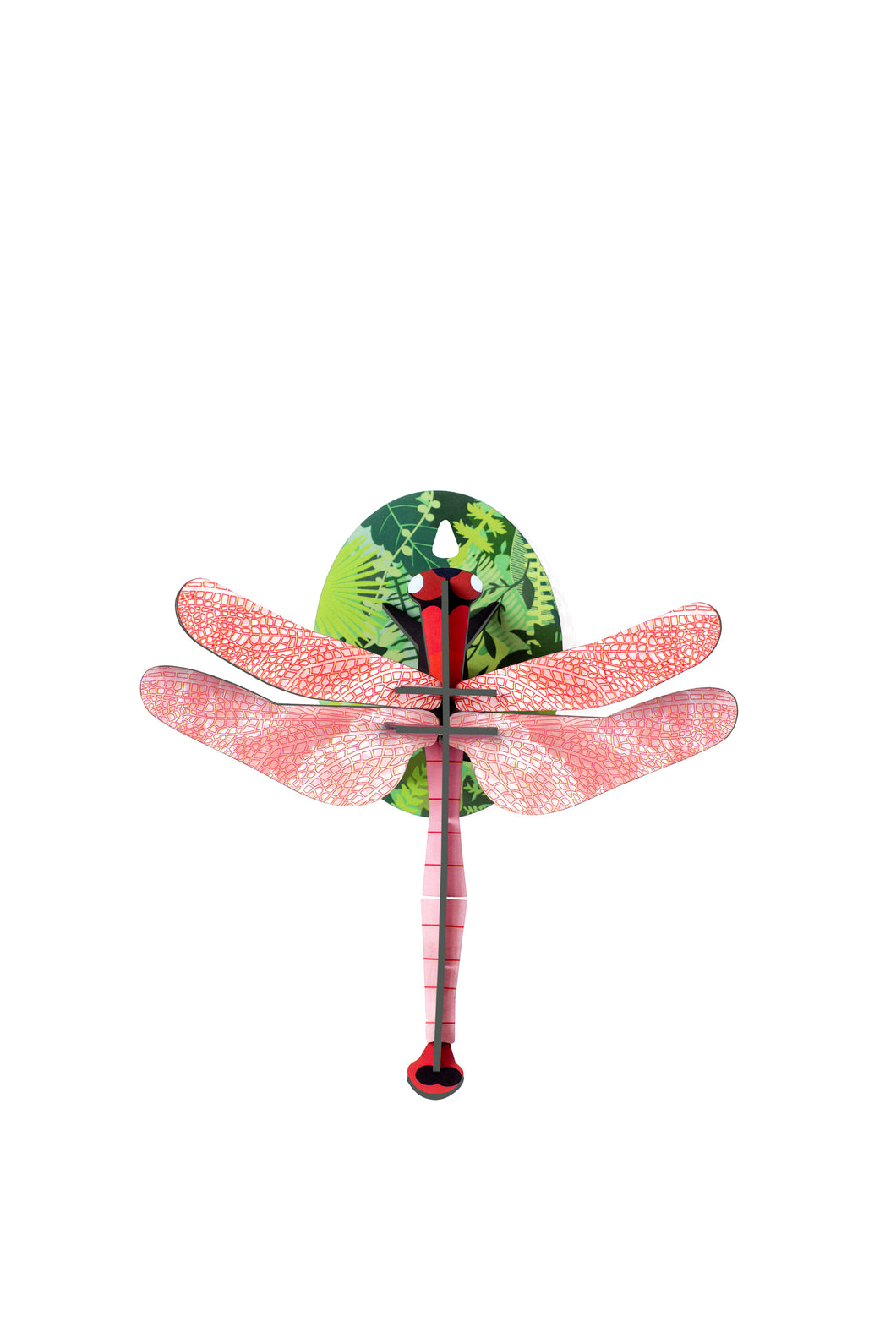 Little Wonders of Nature-Pink Dragonfly