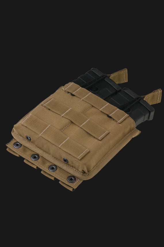 C5 M4 double mag pouch open top