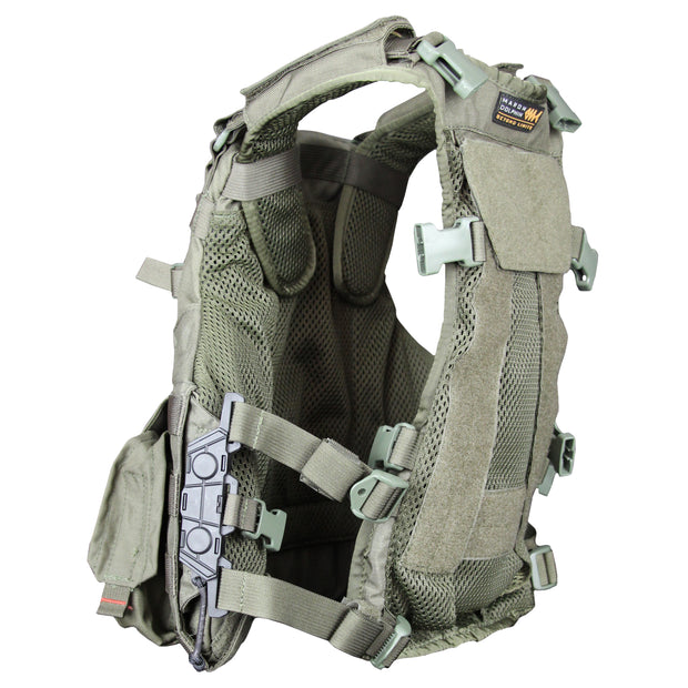 Airflow back for Amran vest