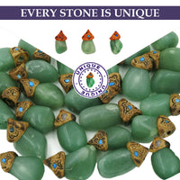 Aventurine crystals healing  stone necklace natural gemstone pendant