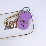 Fancy As F Pineapple Keychain