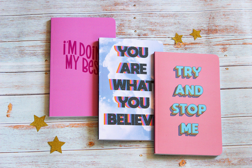 """I'm Doing My Best"" Inspirational Notebook"