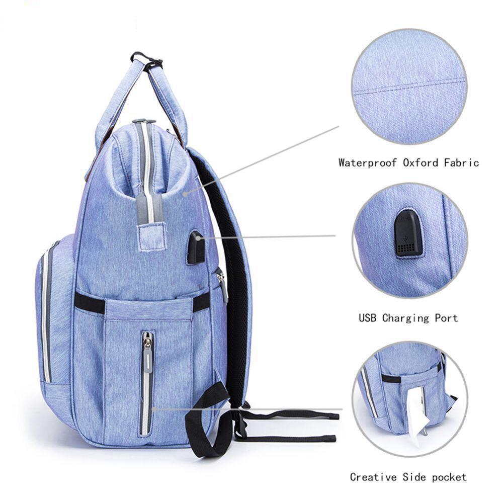 Mommy Diaper Bag (Denim Style)