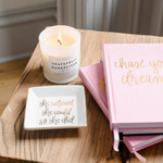 'Chase Your Dreams' Inspirational Lined Journal