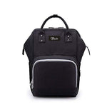Mommy Diaper Bag (Solid Black)