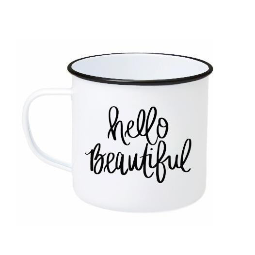 Hello Beautiful Coffee Mug