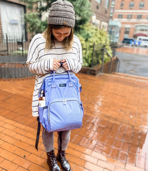 The Casual Mommy Diaper Bag (Denim Style)