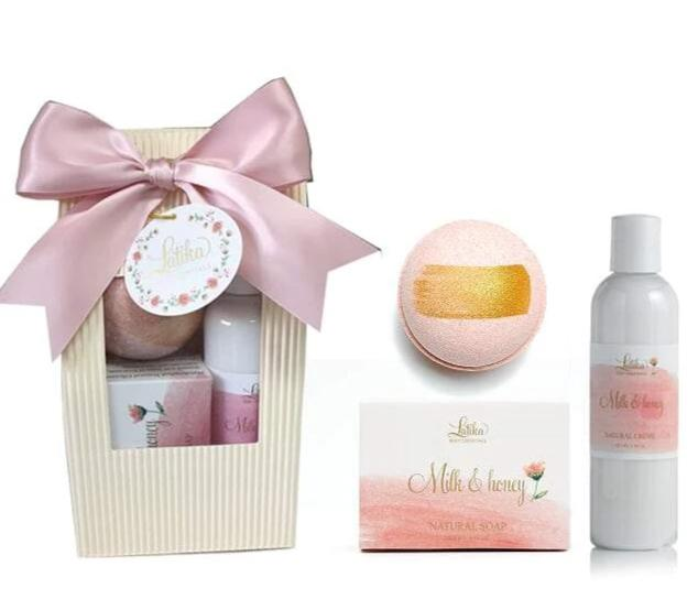 Milk and Honey Bath Gift Set