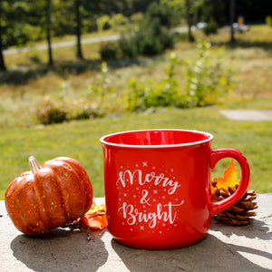 Merry & Bright Ceramic Coffee Mug