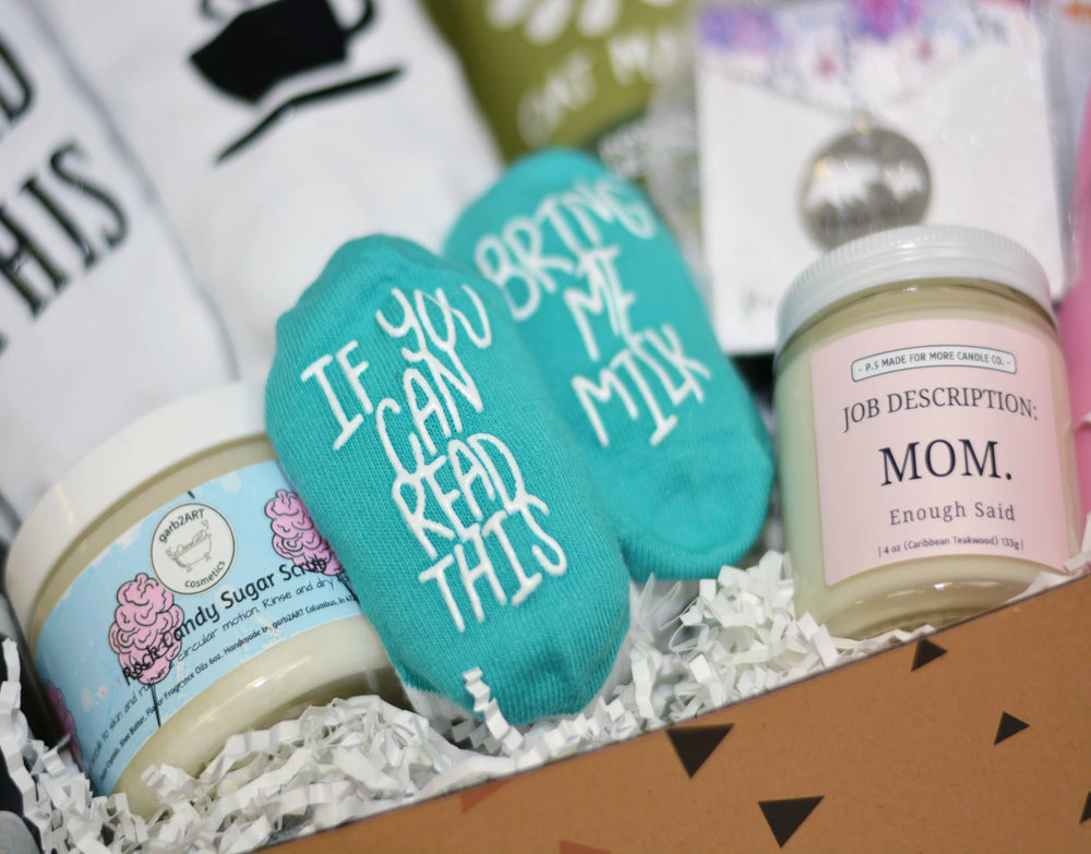 You got this new mom gift box