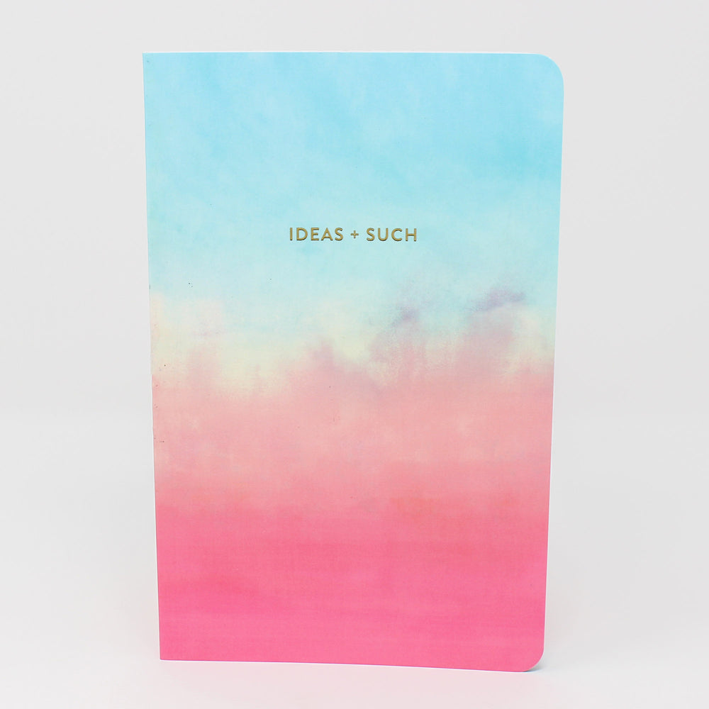 'Ideas + Such' Inspirational Lined Notebook