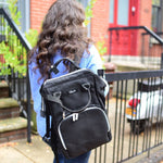 The Back to Black Mommy Diaper Bag