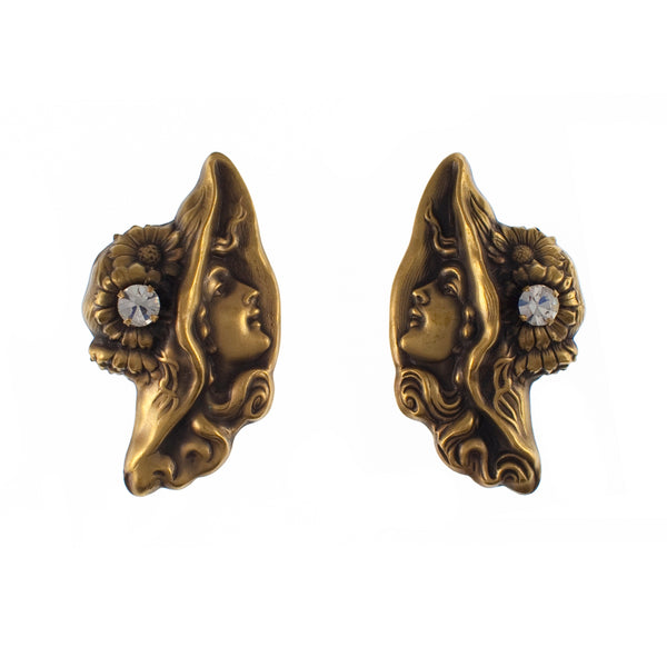 Joseff clip on earrings