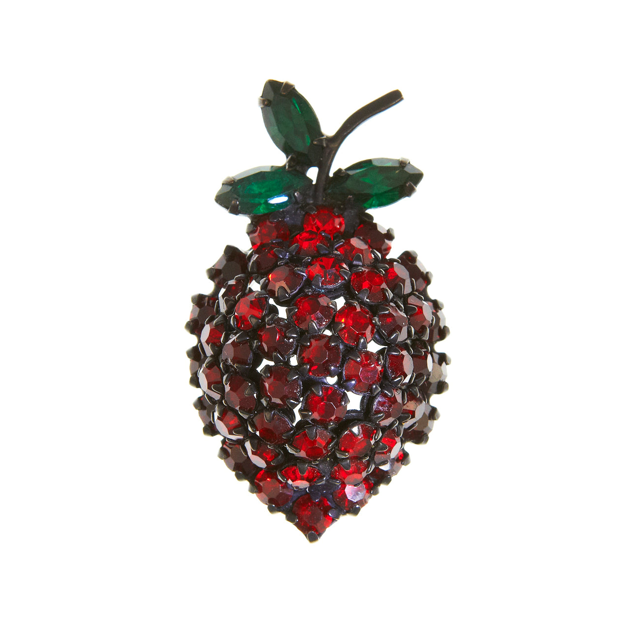 Vintage 1950s berry brooch