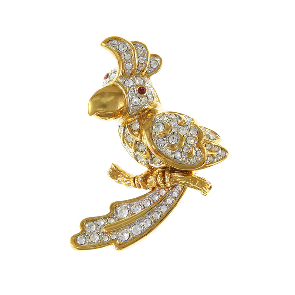 Atwood & Sawyer Cockatoo Brooch
