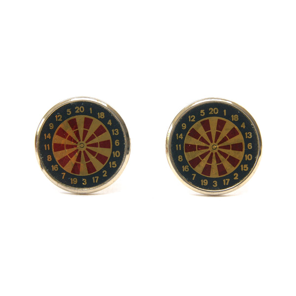 Stratton Dartboard Cufflinks