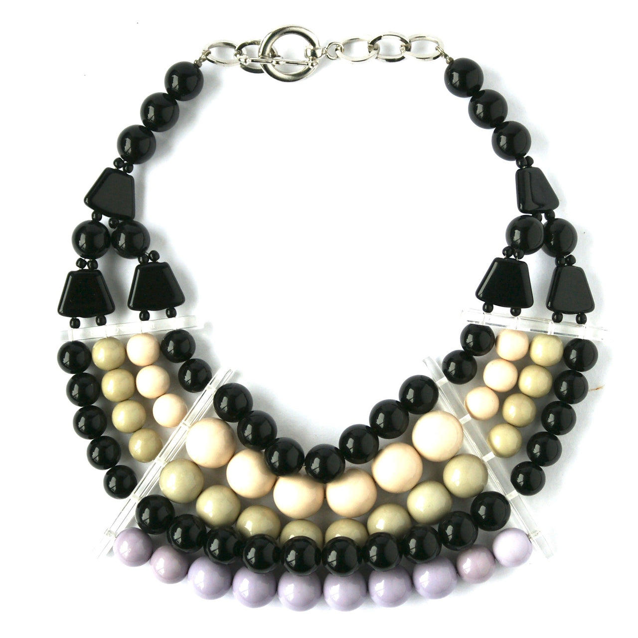Eclectica Vintage Jewellery | UK | 1990s Vintage Emporio Armani Chunky Beaded Necklace