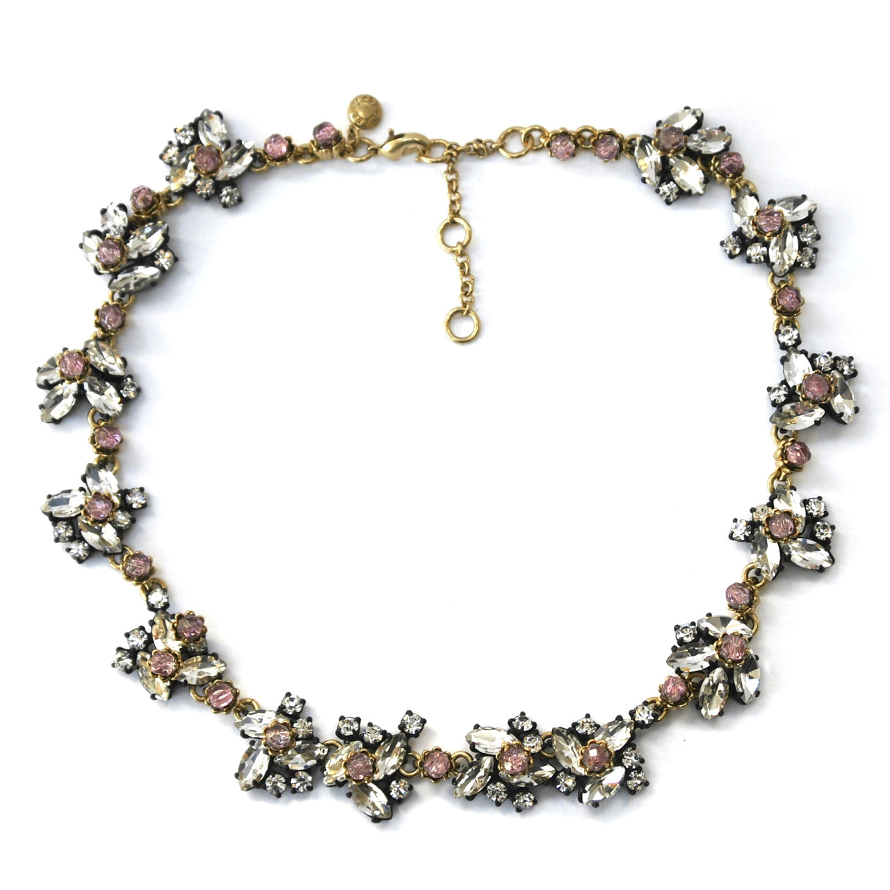 Eclectica Vintage Jewellery | UK | J Crew Rhinestone Necklace