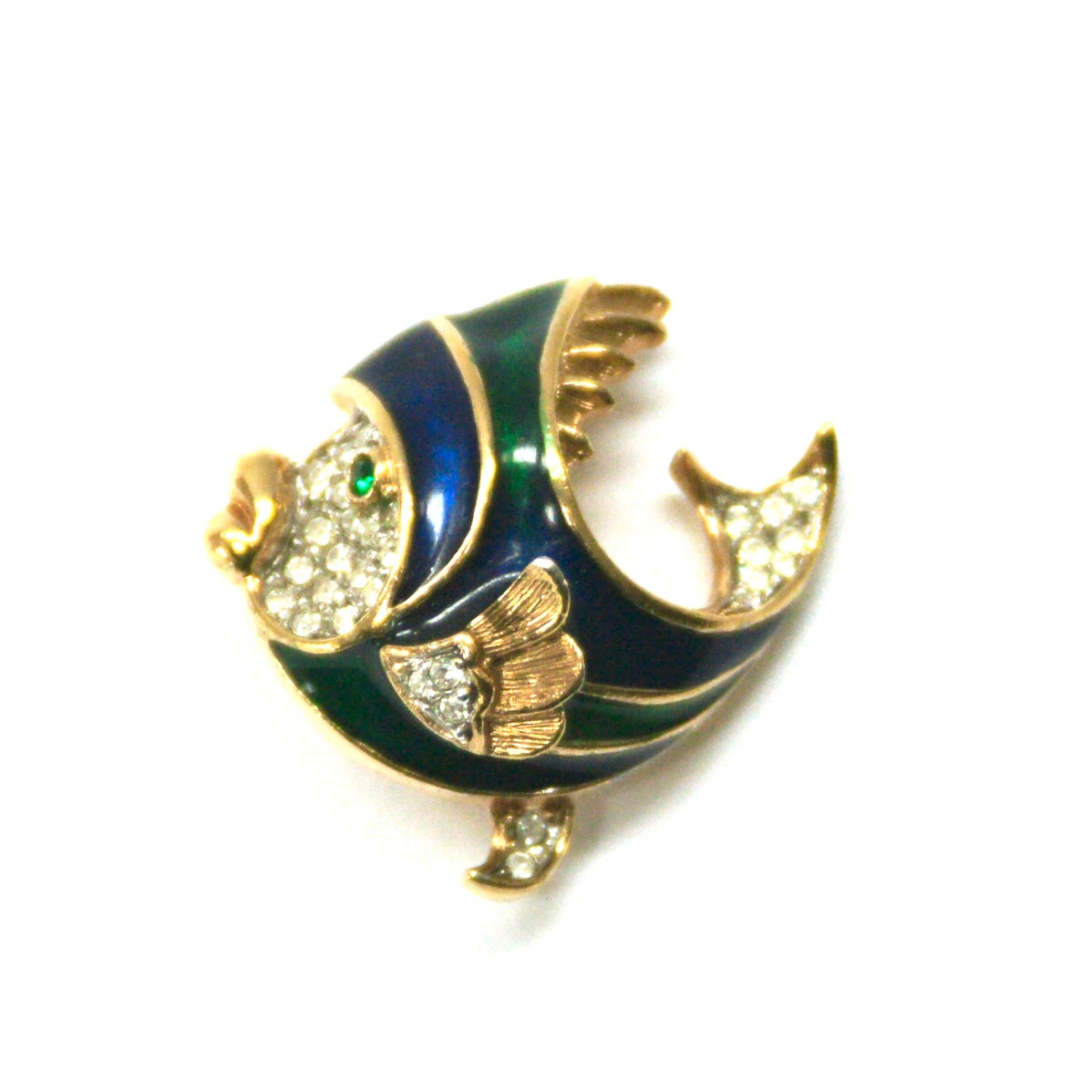 1970s Vintage Attwood & Sawyer Fish Brooch