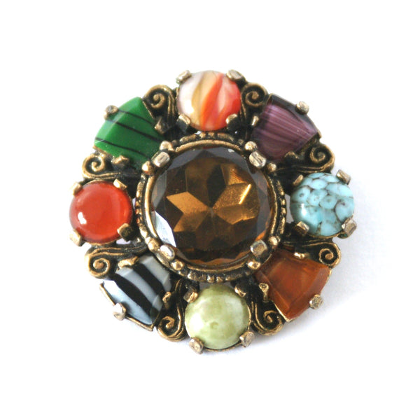 Eclectica Vintage Jewellery | UK | 1960s Miracle Brooch