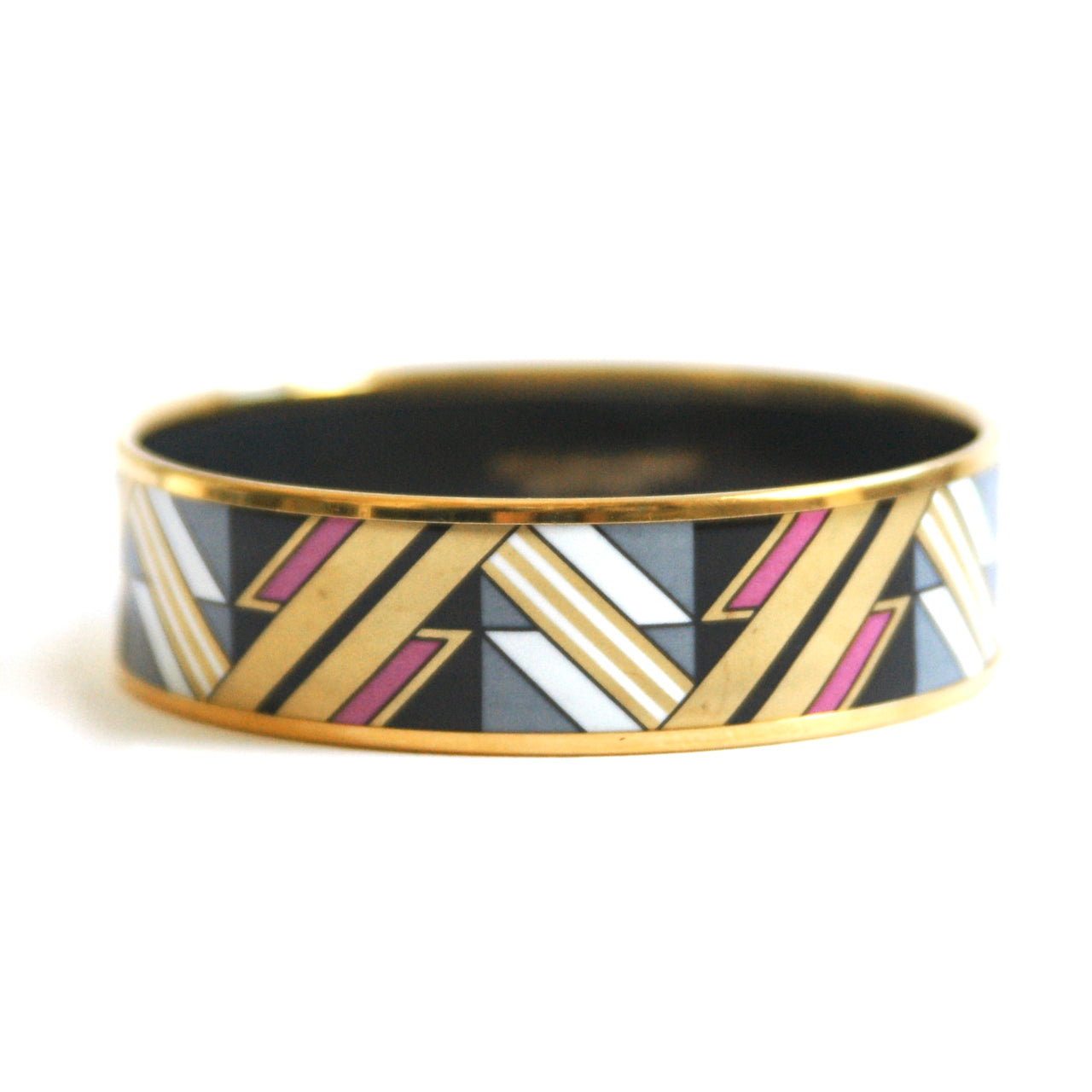 Eclectica Vintage Jewellery | UK | 1970s Vintage Michael Frey Geometric Bangle