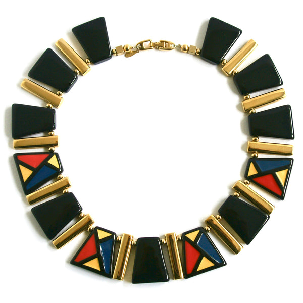 1980s Vintage Napier Statement Necklace