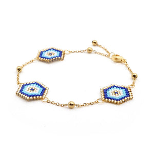 00 Boho Golden Eye bracelet