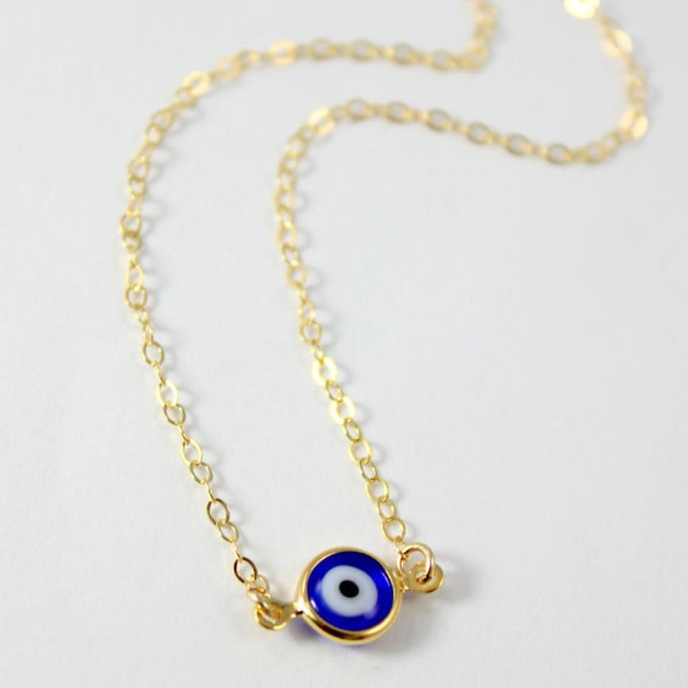 Powerful Teeny Tiny Vintage Eye Protection pendant