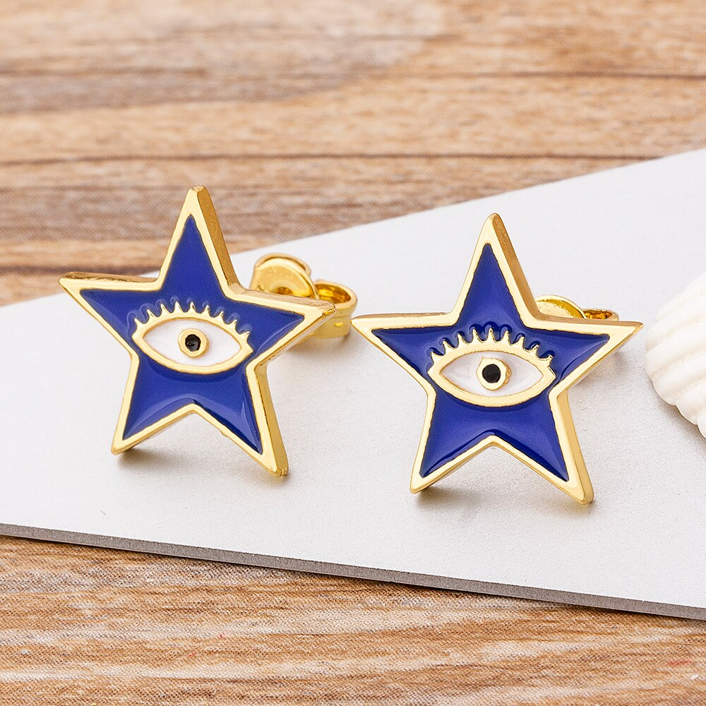 So Hot Right Now Star Eye Protection studs