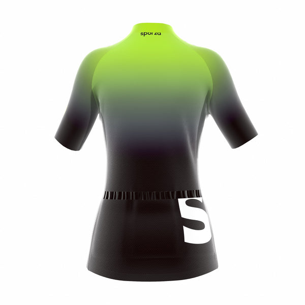 SPORZA JERSEY GRADIENT GREEN WOMEN