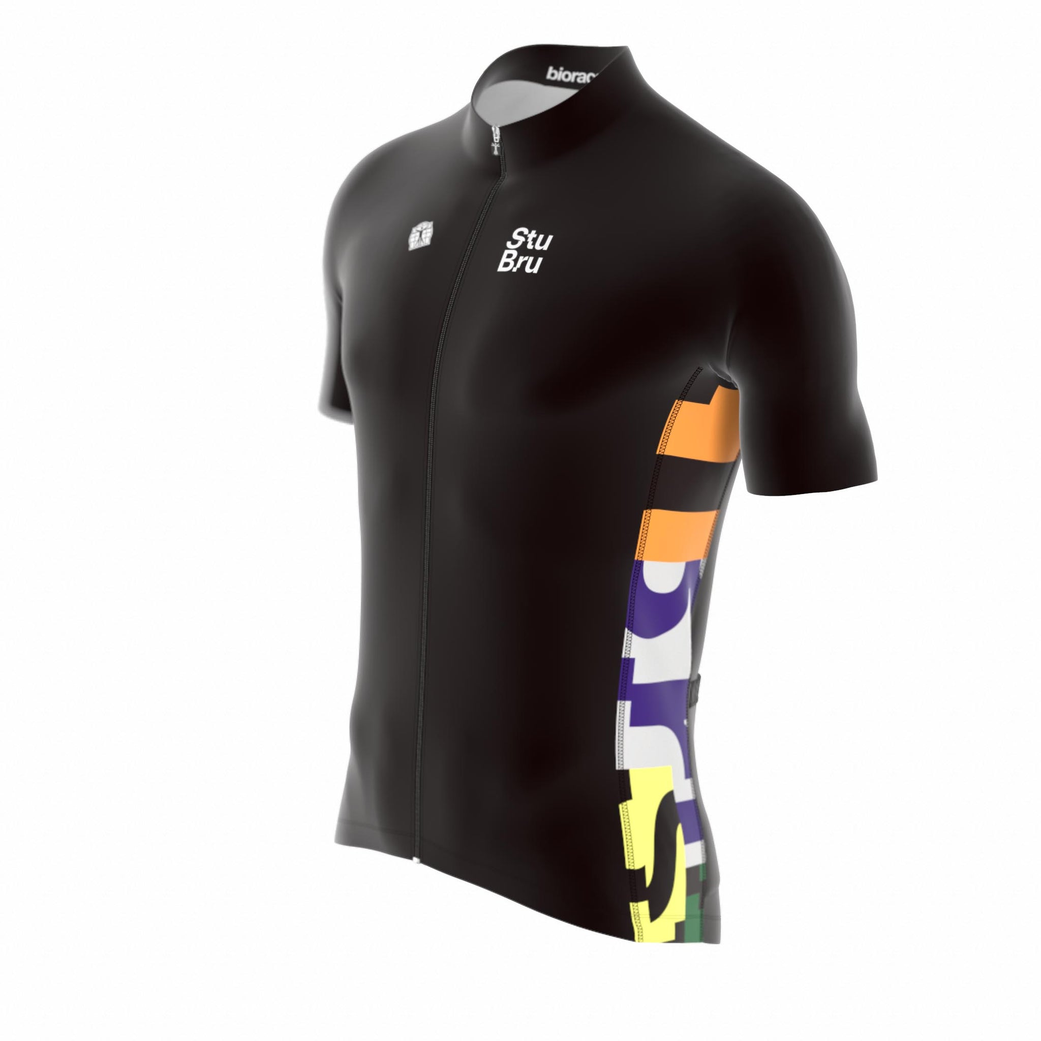 STUDIO BRUSSEL 2019 CYCLING JERSEY SS MEN