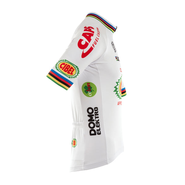 WVA Short Sleeve Jersey: White