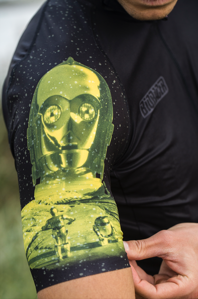 Star Wars -JERSEY SS ICONIC SLEEVE-Yellow - C3PO