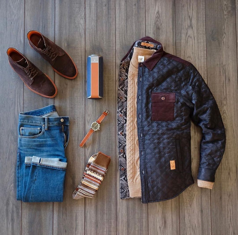 Timeless Men's Fall Fashion Styles - @manfashiongrid
