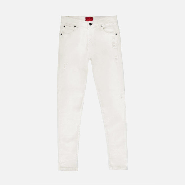 Distressed Denim Jeans | Off White
