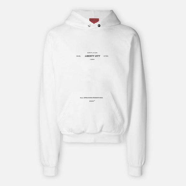 Liberty City Hoodie | Snow White