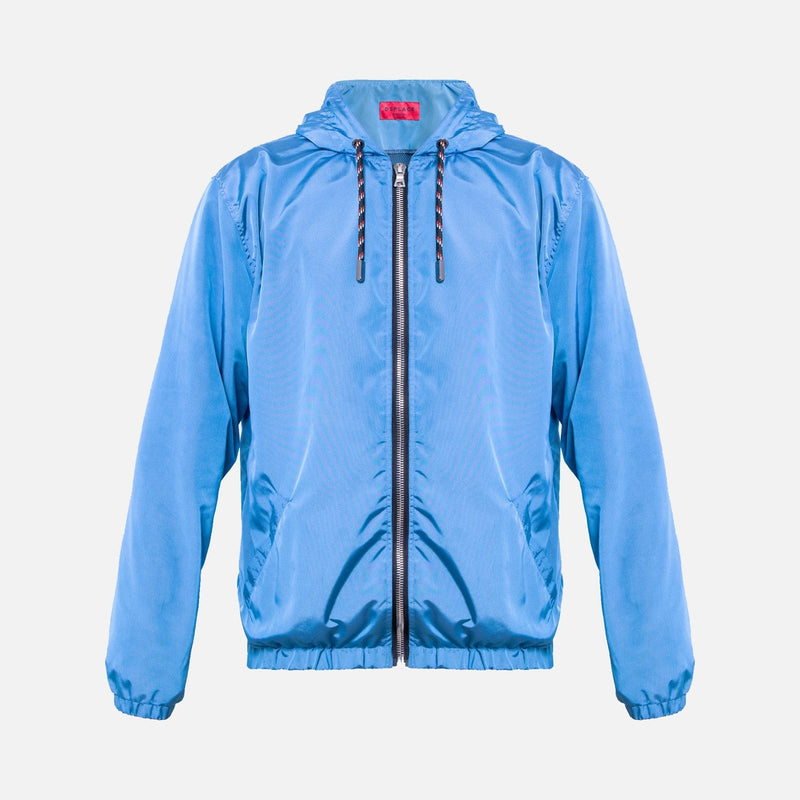 Axel Windbreaker | Mykonos Blue