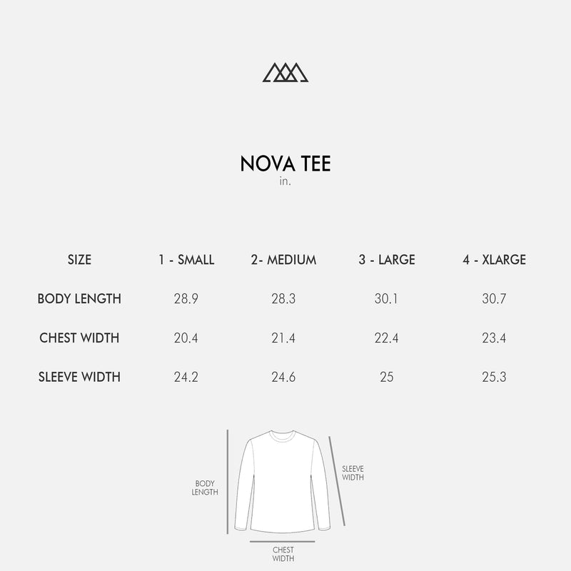 2.0 Nova Signature Tee | Salt White