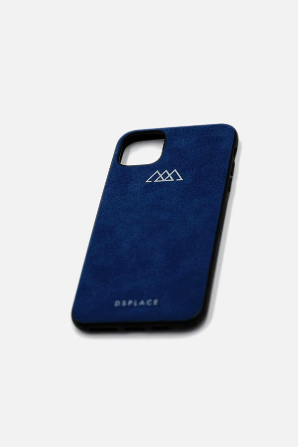 IPHONE 11 & 12 ALCANTARA® CASE | NAVY BLUE