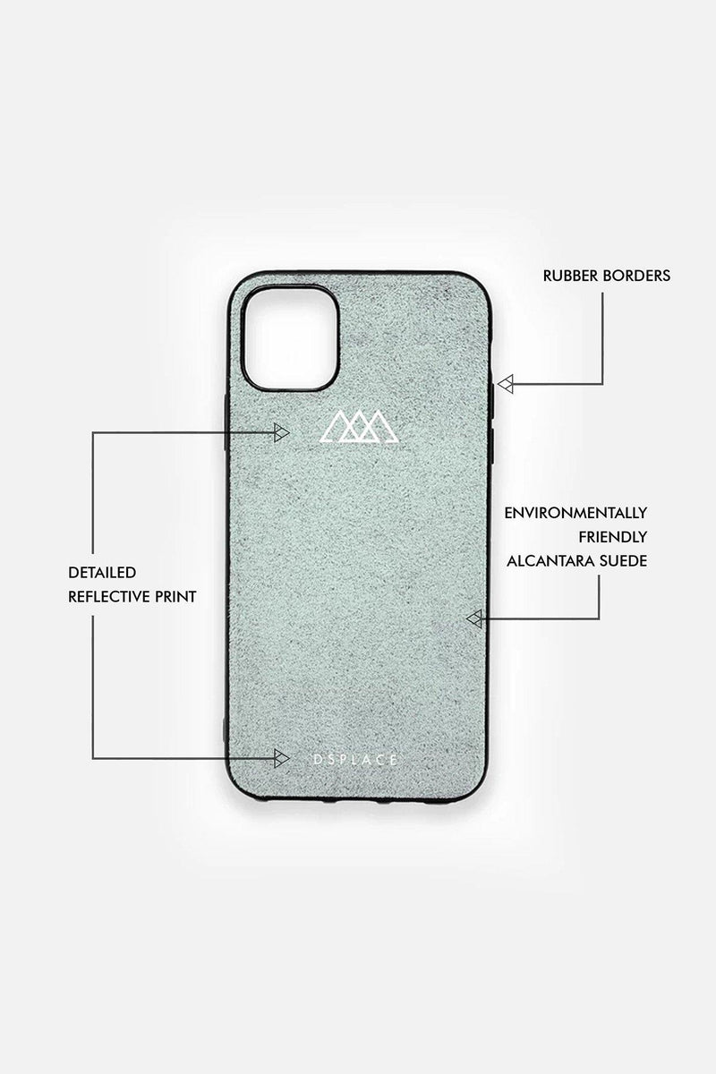 IPHONE 11 & 12 ALCANTARA® CASE | COOL GRAY