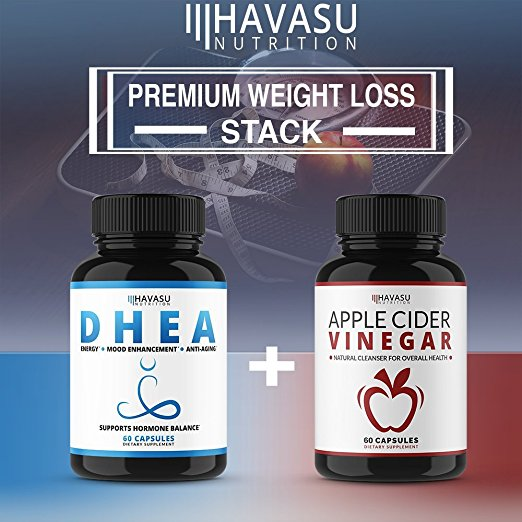 Havasu Nutrition Extra Strength Apple Cider Vinegar Pills Natural Weight Loss Detox Digestion Powerful 500mg Cleanser Premium Non Gmo Cider