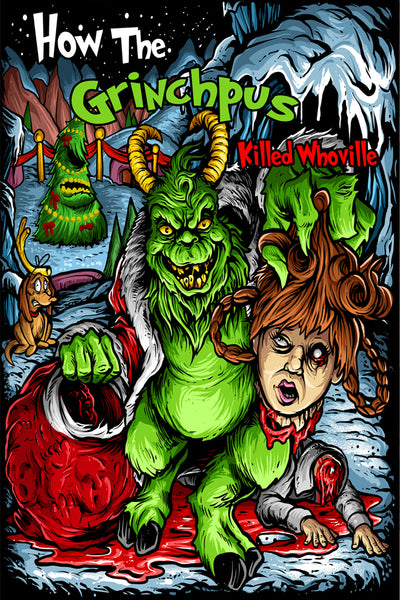 Grinchpus 12 x 18 Poster