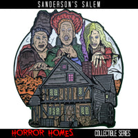 Sanderson's Salem - Horror Homes Pin & Candle Collection