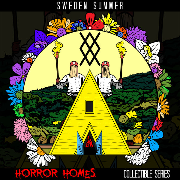 Sweden Summer - Horror Homes Pin & Candle Set