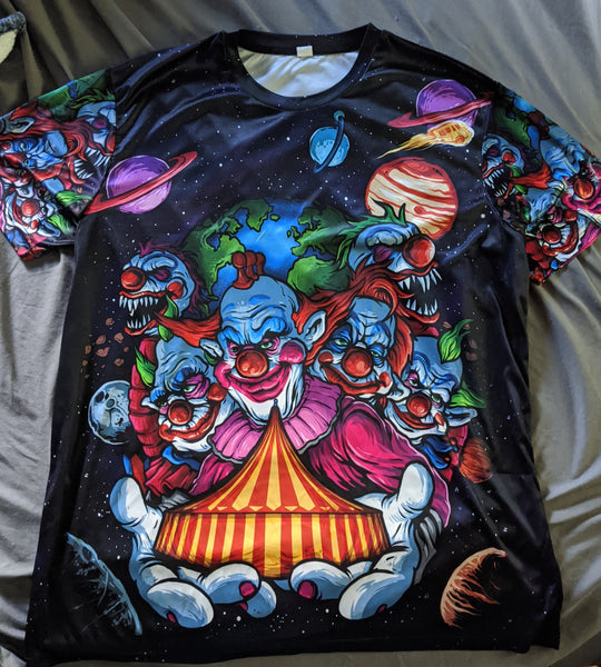Interplanetary Clown Pavilion Sublimated Shirts