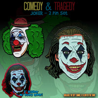 Comedy & Tragedy - Joker 2 Pin Set