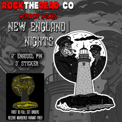 New England Nights - Horror Homes