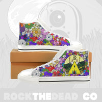 Sweden Summer High Top Canvas Shoes