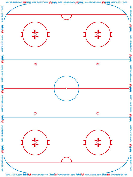 Taktifol Ice Hockey - Whiteboard Roll