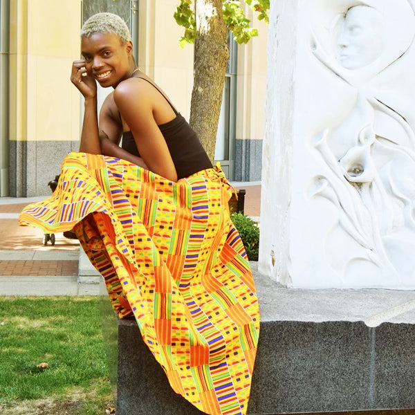 African Maxi Skirts